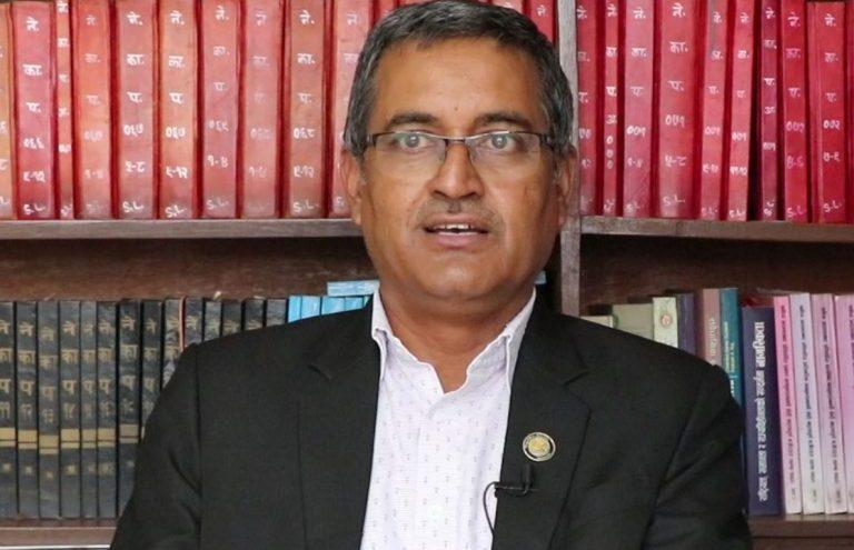 सरकारका कानूनी सल्लाहकार रमेश बडालद्वारा राजीनामा